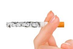 cigaretthand Arkivfoto