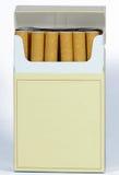 cigarettpacke Arkivbild