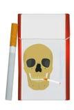 cigarettpacke Royaltyfri Foto