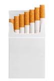 cigarettpacke Royaltyfri Bild