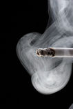 cigarettrökning Fotografering för Bildbyråer