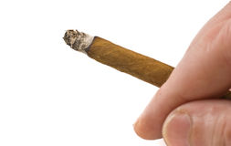 Cigarillo Royalty Free Stock Images