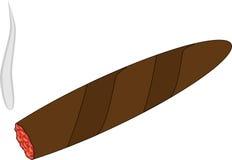 cigarr havana stock illustrationer