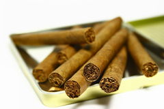 cigarrer Arkivfoton
