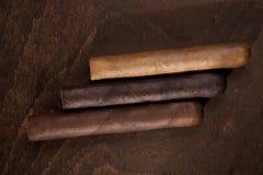 cigarrer tre Royaltyfria Bilder