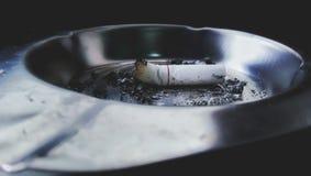 cigarrete pasado fotografía de archivo libre de regalías