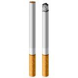 Cigarrillo del vector Fotografía de archivo