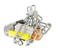 Cigarrillo, encendedor y cadenas VI fotografía de archivo libre de regalías