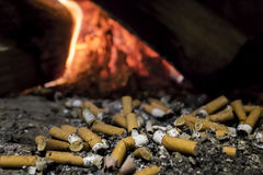 Cigarrillos Imagen de archivo libre de regalías
