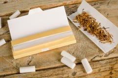 Cigarrillos del balanceo Foto de archivo
