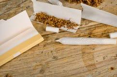 Cigarrillos del balanceo Imagen de archivo libre de regalías