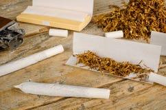Cigarrillos del balanceo Fotos de archivo