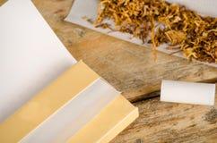Cigarrillos del balanceo Fotografía de archivo