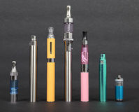 Cigarrillos electrónicos Imagen de archivo libre de regalías