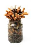 cigarrjarstumpar Fotografering för Bildbyråer