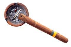 cigarrkuban Arkivfoto