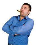cigarrman Royaltyfria Bilder