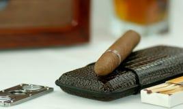 Cigarro Imagen de archivo libre de regalías