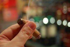 Cigarro foto de archivo libre de regalías
