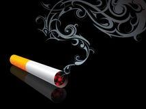 Cigarro de fumo ilustração royalty free