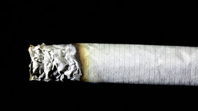 Cigarro de fumo video estoque