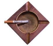Cigarro do Lit. Imagens de Stock Royalty Free