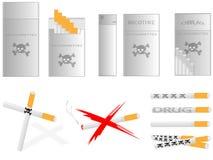 Cigarros ilustração stock