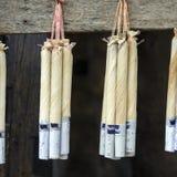 Cigarros birmanos hechos en casa Fotografía de archivo libre de regalías
