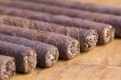 Cigarros cubanos Foto de archivo