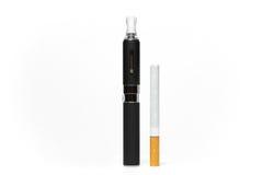 Cigarros da comparação Imagem de Stock