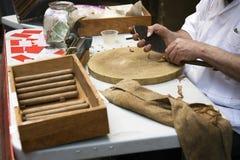 Cigarros del balanceo Imágenes de archivo libres de regalías