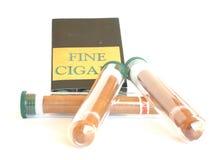 Cigarros finos Fotografía de archivo