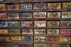 Cigarros para la venta Imagen de archivo libre de regalías