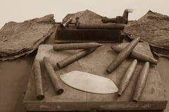 Cigarros recientemente rodados Fotos de archivo libres de regalías