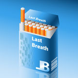 cigarrpacke Royaltyfri Fotografi