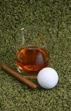 cigarrwhiskey Royaltyfri Bild