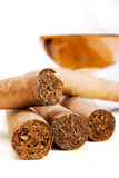 Cigars and Drink Royalty Free Stock Photo