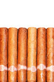 Cigars isolated Royalty Free Stock Photo