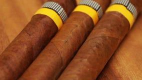 Cigars Still-life in a sunny day. Cigars , Still-life in a sunny day stock footage