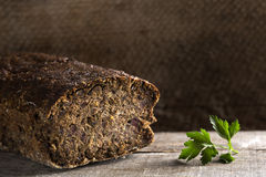 Cighir - Traditional Romanian baked roulade stock images