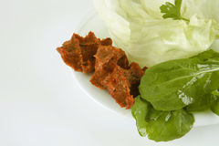 Cigkofte/alimento turco Fotos de Stock Royalty Free