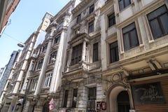 Cihangir-Bezirk von Beyoglu, Istanbul Lizenzfreies Stockfoto