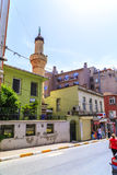Cihangir district of Beyoglu, Istanbul Stock Image