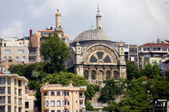 Cihangir Mosque in Istanbul Royalty Free Stock Photo