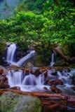 Ciherang vattenfall royaltyfri bild