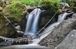 Ciherang-Wasserfall Stockfotografie