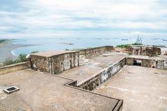 Cihou Fort in Cijin island, Kaohsiung, Taiwan. Cijin beach and Cihou Fort in Kaohsiung, Taiwan royalty free stock photography