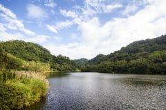 Cihu/välvillig sjö Arkivfoto