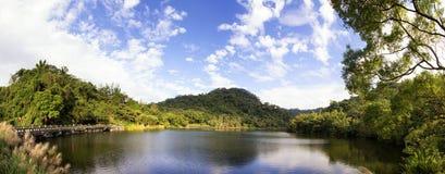Cihu/välvillig sjö Arkivfoton