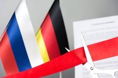 Ciie tasiemkowego Russia Germany obrazy stock